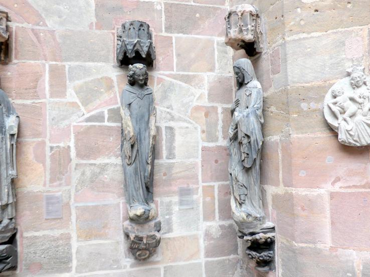 Verkündigung an Maria, um 1355