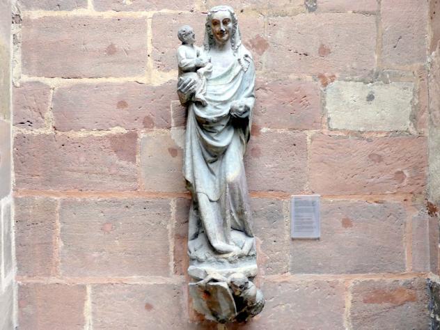 Muttergottes, um 1360