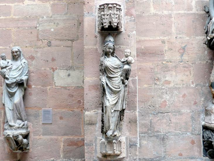 Muttergottes, um 1360 - 1370