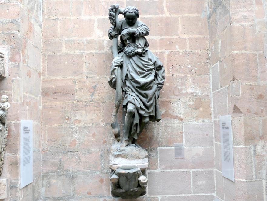 Der Schlüsselfelder Christophorus, 1442