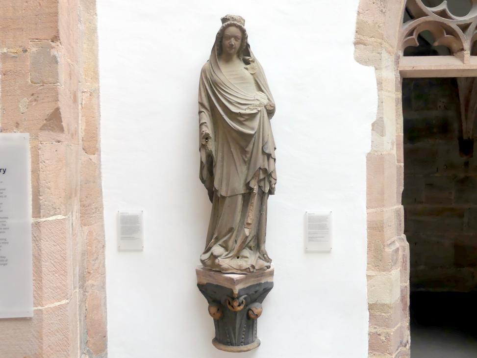 Muttergottes, um 1340