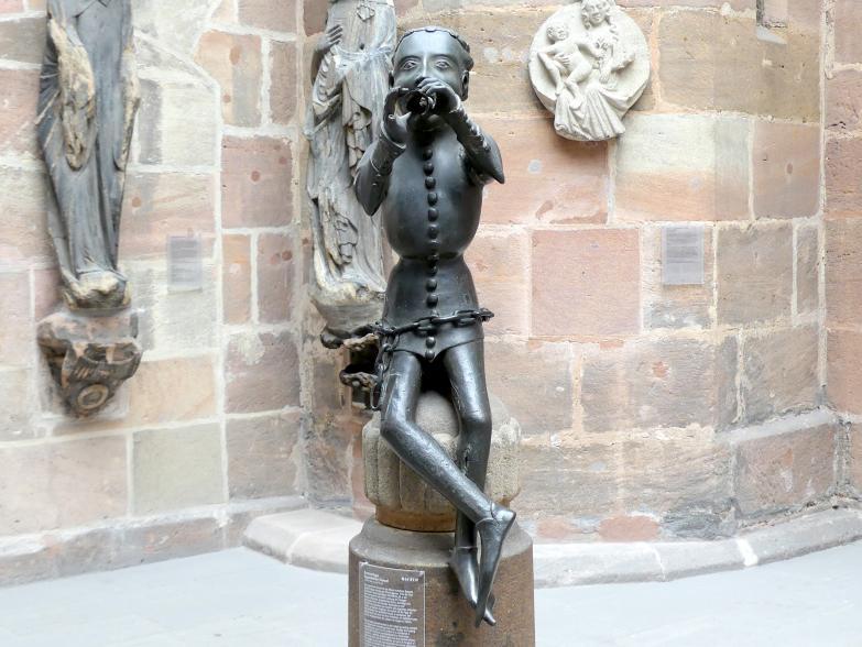 Brunnenfigur, sog. Hansel, um 1380