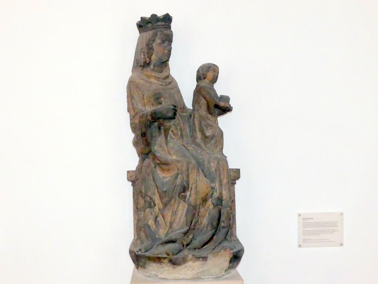Muttergottes aus einer Anbetung der Könige, um 1360