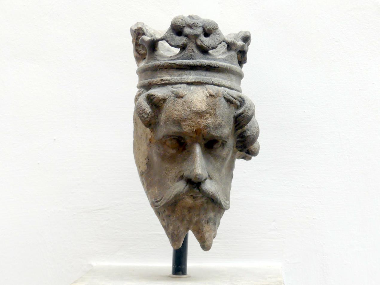 Kopf des Königs Artus, um 1385 - 1392