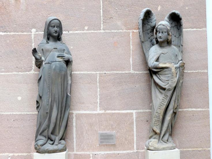 Verkündigung an Maria, um 1360