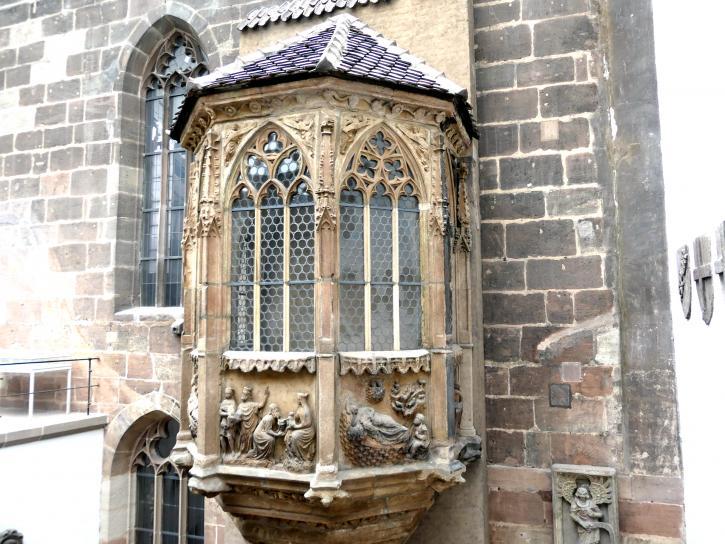 Chörlein des Sebalder Pfarrhofs, um 1370