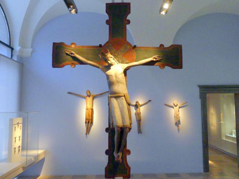 Kruzifixus aus der Kölner Stiftskirche St. Maria im Kapitol, um 1160