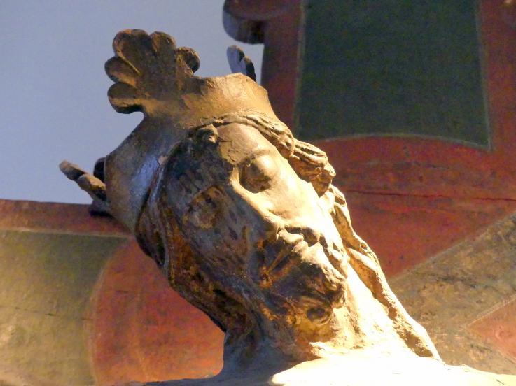 Haupt Christi aus der Kölner Stiftskirche St. Maria im Kapitol, um 1220