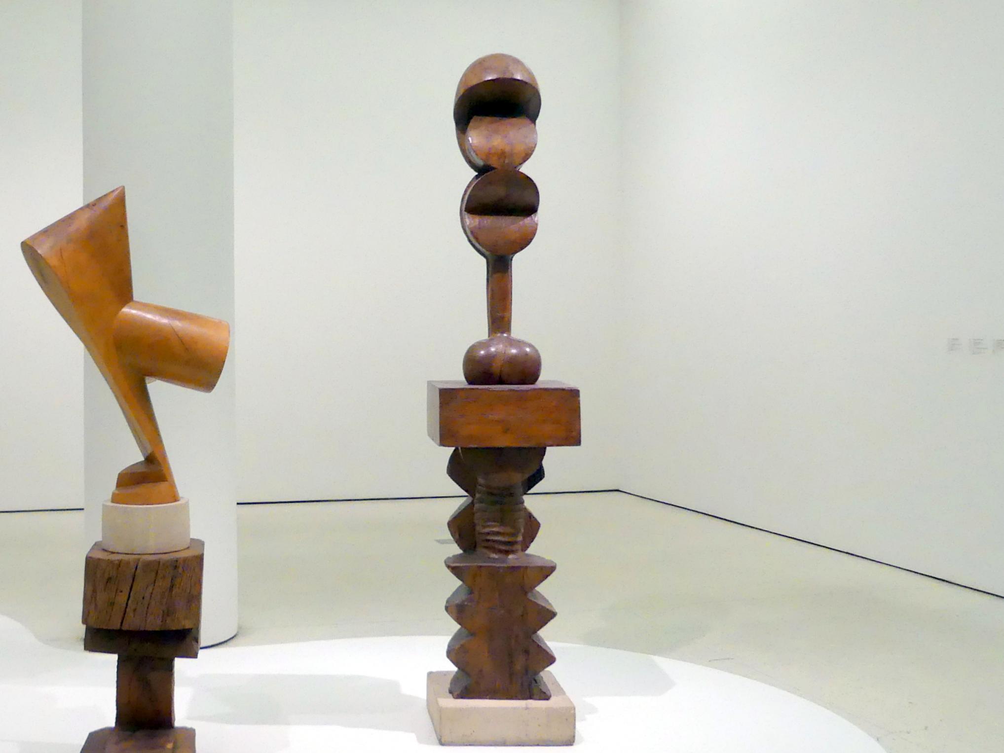 Constantin Brâncuși: Adam und Eva (Adam et Eve), 1921