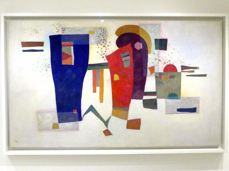 Wassily Kandinsky: Begleiteter Kontrast, 1935