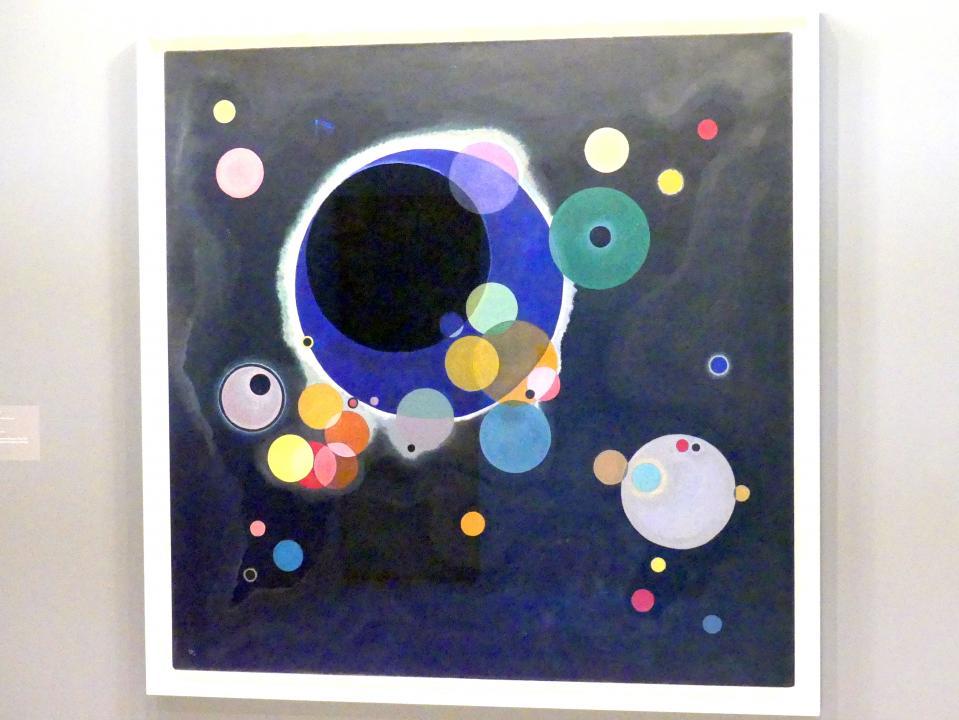 Wassily Kandinsky: Einige Kreise, 1926