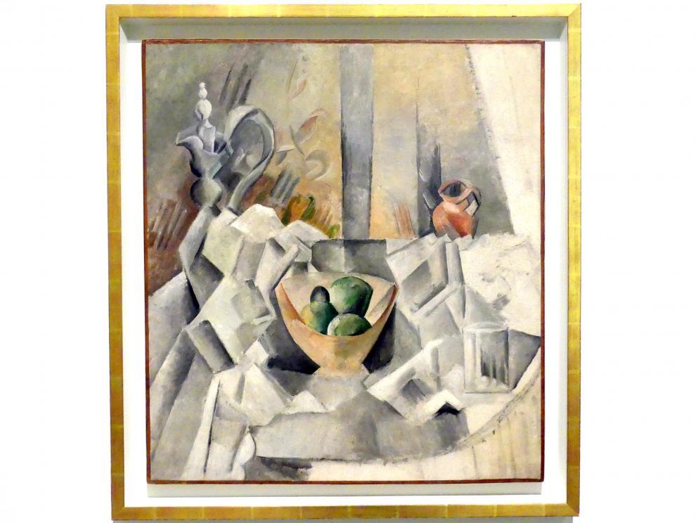 Pablo Picasso: Karaffe, Krug und Obstschale, 1909