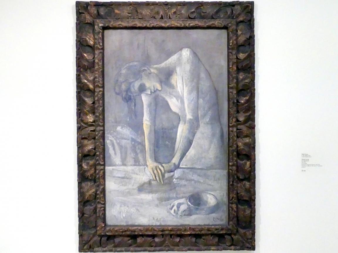 Pablo Picasso: Frau beim Bügeln, 1904