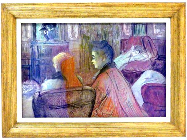 Henri de Toulouse-Lautrec: Im Salon, 1893