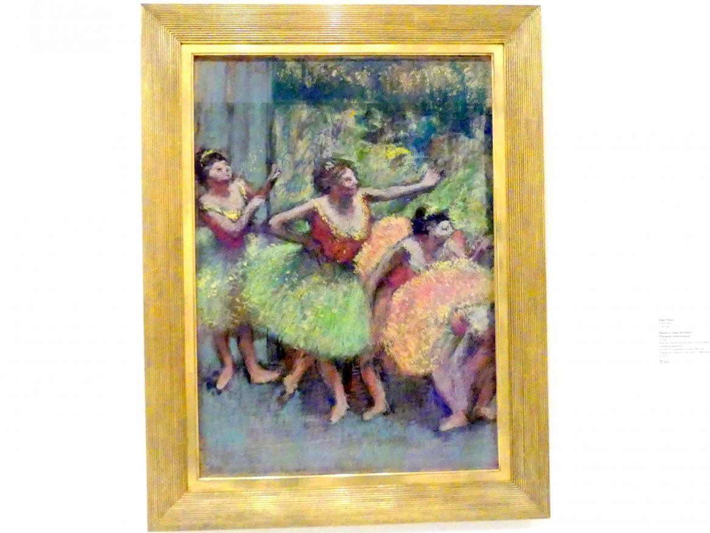 Edgar Degas: Tänzerinnen in Grün und Gelb, 1903