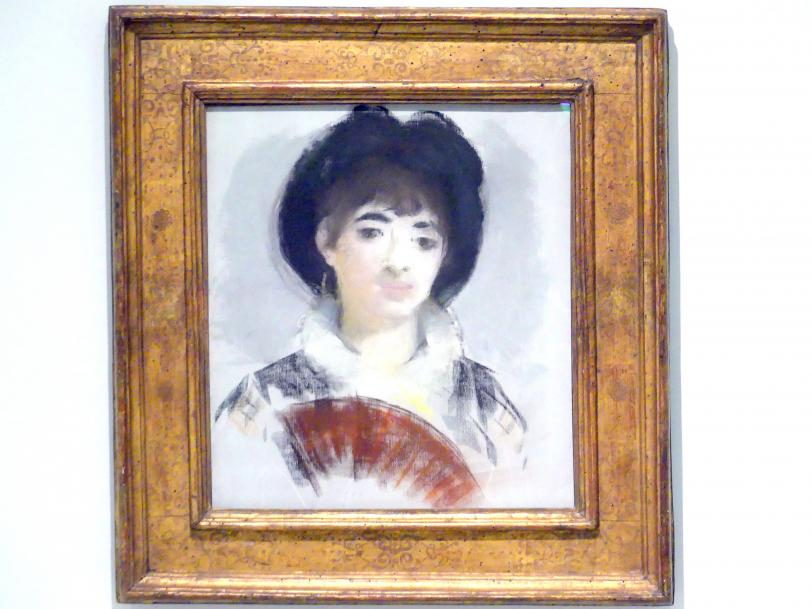 Édouard Manet: Porträt der Gräfin Albazzi, 1880