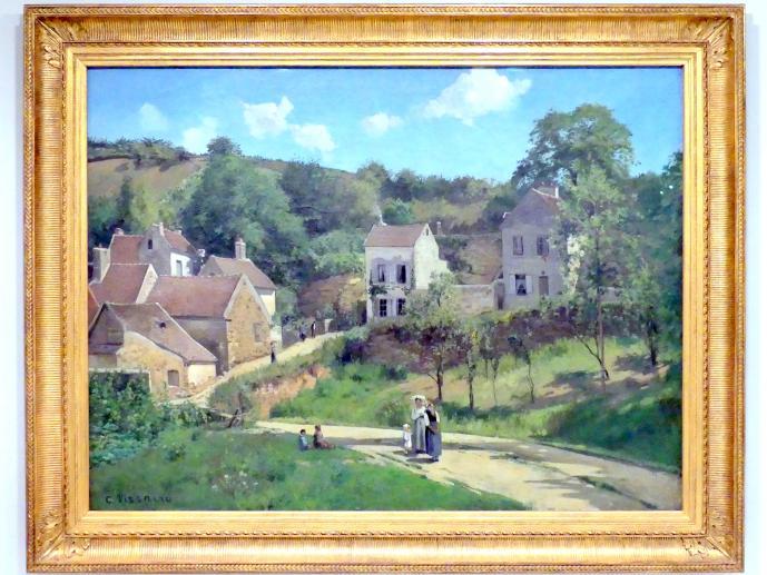 Camille Pissarro: Coteaux de l'Hermitage bei Pontoise, um 1867