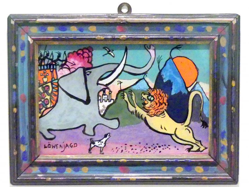 Wassily Kandinsky: Löwenjagd, 1911