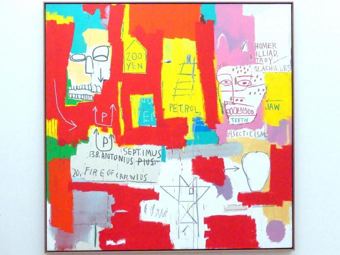 Jean-Michel Basquiat: Zwei Köpfe II, 1983
