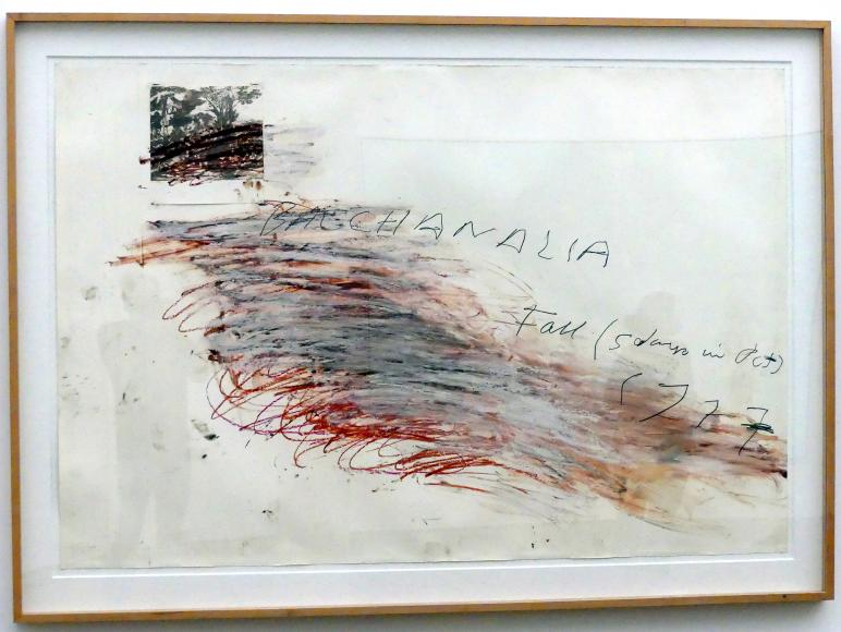 Cy Twombly: Bacchanalien - Herbst (5 Tage im Oktober), 1977