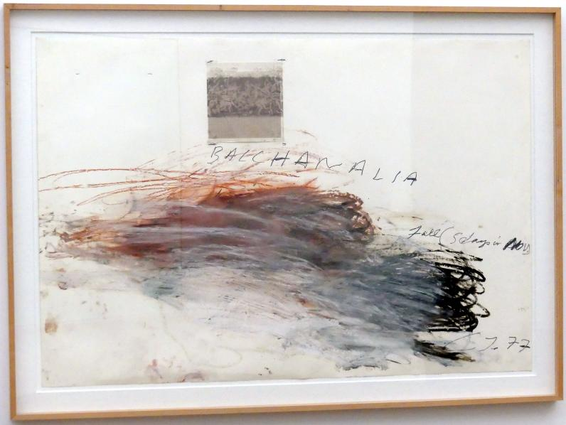 Cy Twombly: Bacchanalien - Herbst (5 Tage im November), 1977