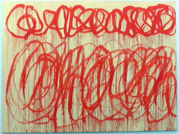 Cy Twombly: Ohne Titel (Bacchus), 2005