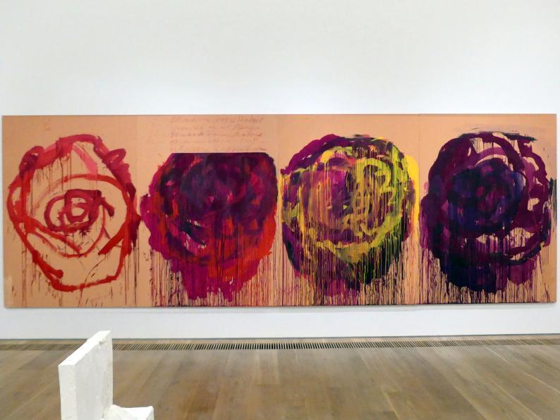 Cy Twombly: Ohne Titel (Rosen), 2008