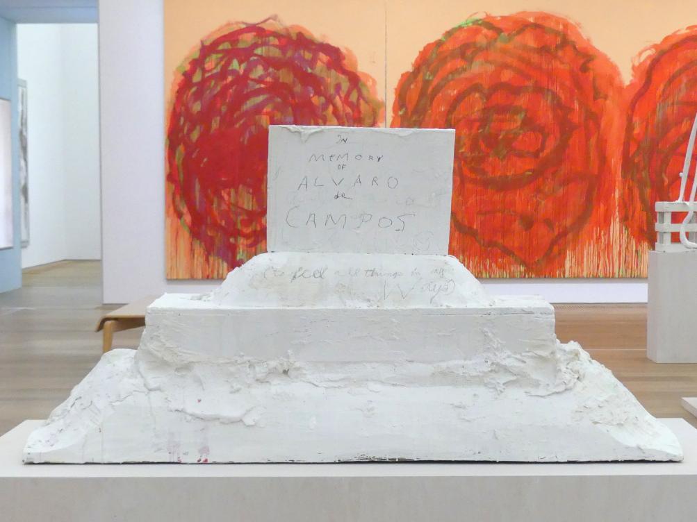 "Cy Twombly: Ohne Titel (""In Gedenken an Alvaro de Campos""), 2002"
