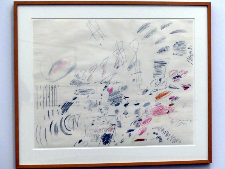 Cy Twombly: Ohne Titel (Rom), 1965
