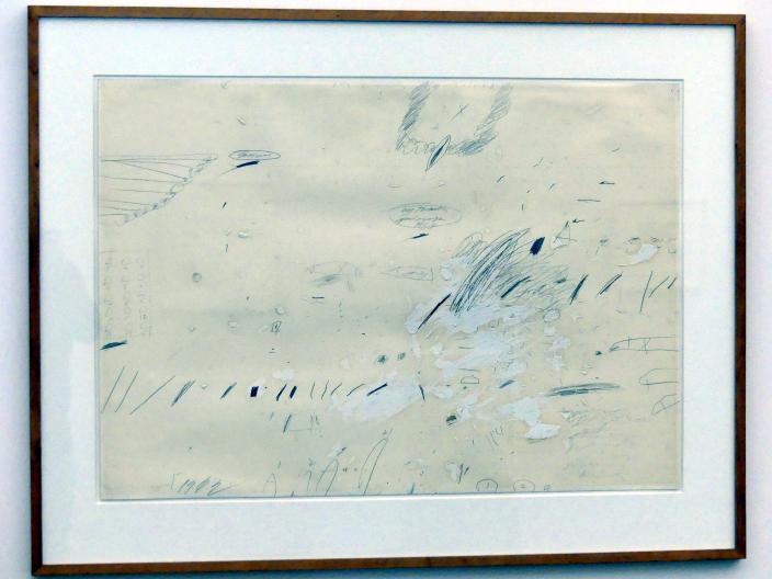Cy Twombly: Ohne Titel (Sperlonga), 1959