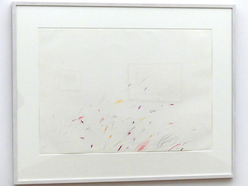 Cy Twombly: Ohne Titel, 1958