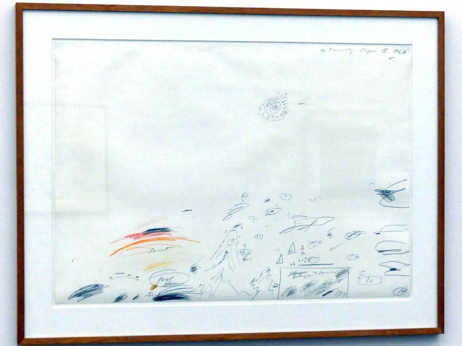 Cy Twombly: Ohne Titel (Capri), 1960