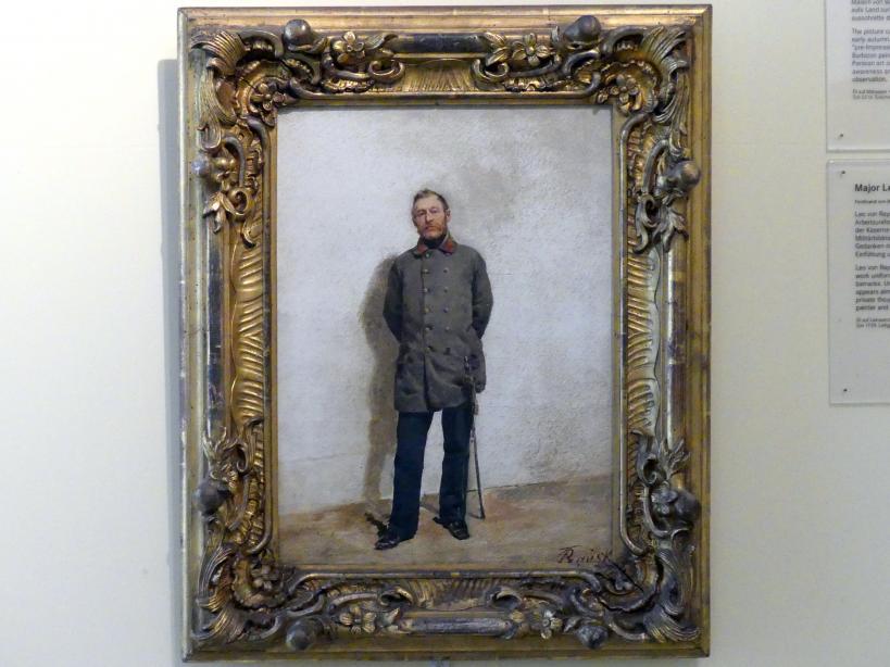 Ferdinand von Rayski: Major Leo von Rayski, um 1857 - 1859