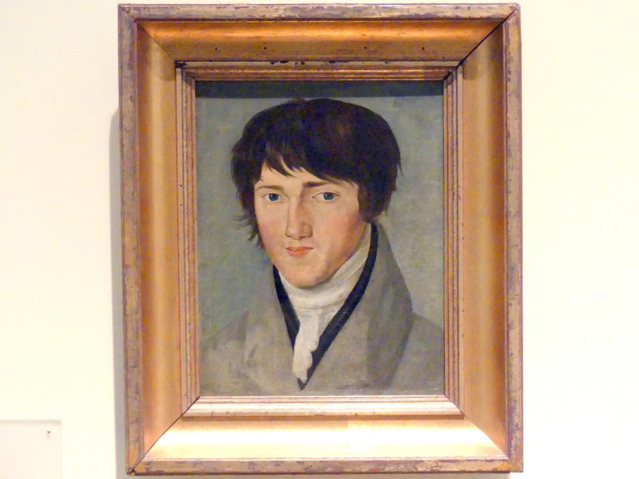Franz Pforr: Selbstbildnis, 1807