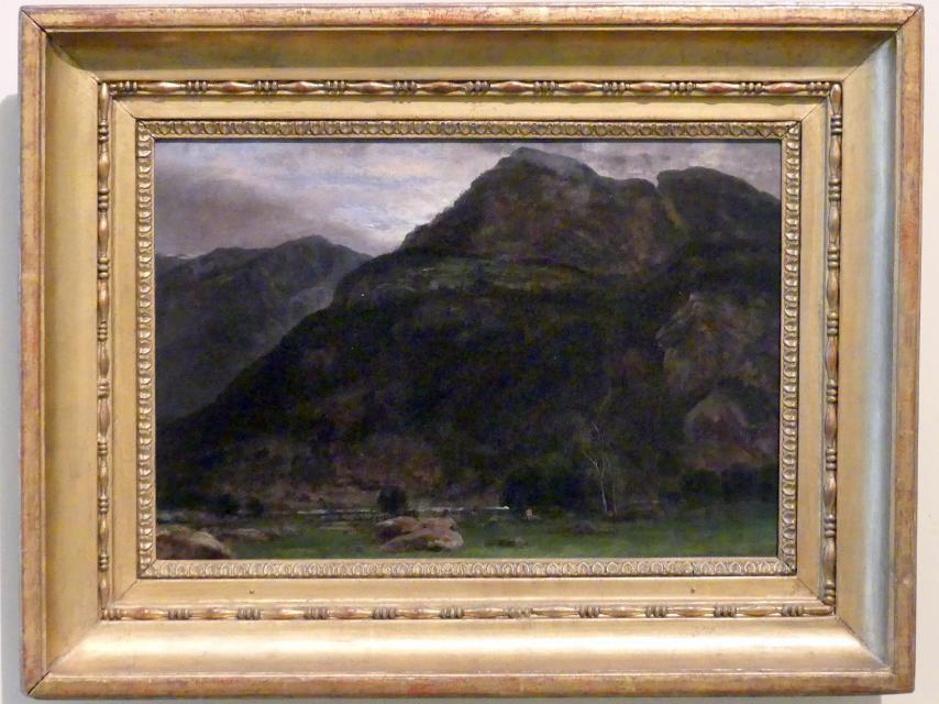 Johan Christian Clausen Dahl: Ansicht des Fortun-Tals, 1827