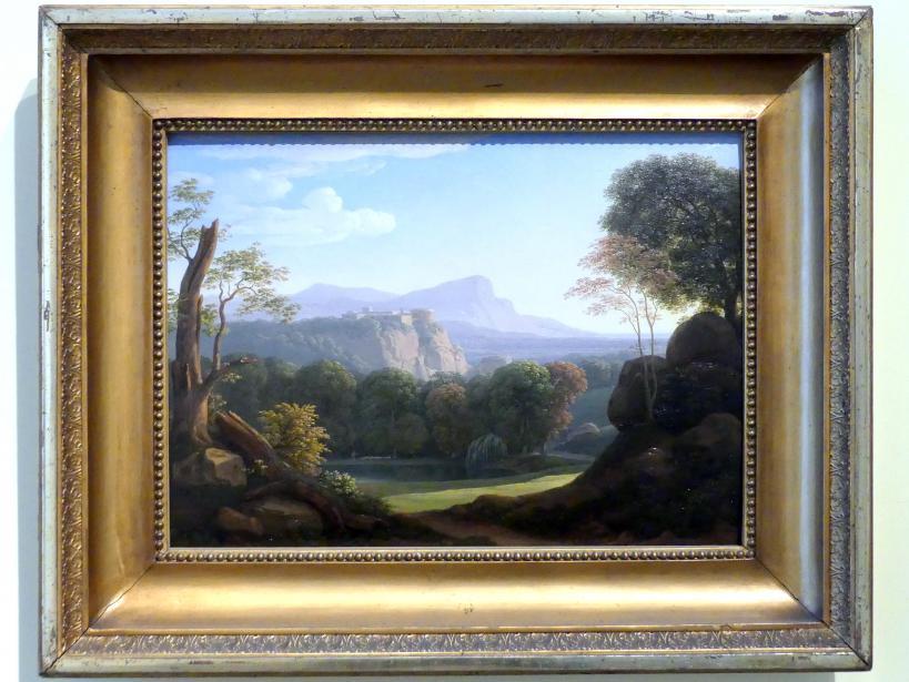 Johann Christian Reinhart: Italienische Landschaft mit Schloß, 1804