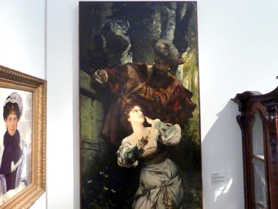 Hans Makart: Faust und Margarethe, 1879