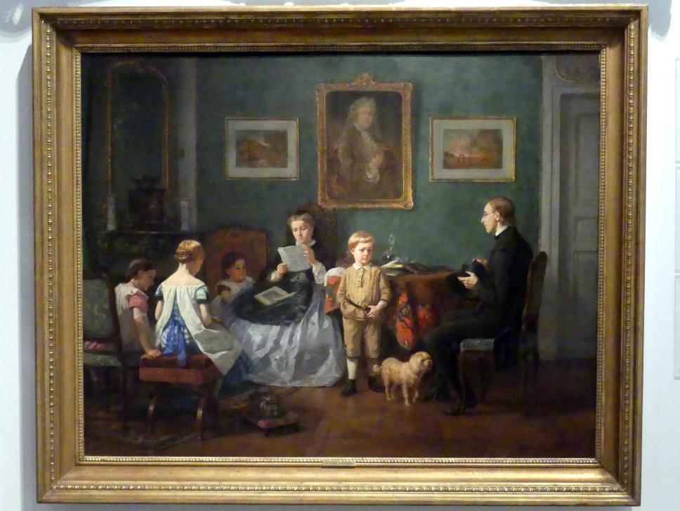 Ben Vautier: Der Hauslehrer, 1865