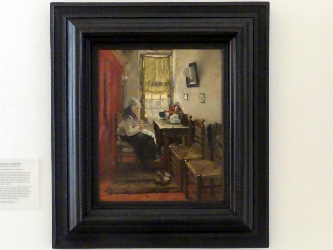 Fritz von Uhde: Im Altleutehaus zu Zandvoort, 1882