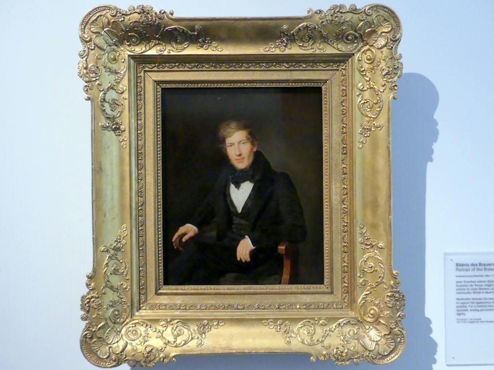 Ferdinand Georg Waldmüller: Bildnis des Brauers Anton Mayer, 1836