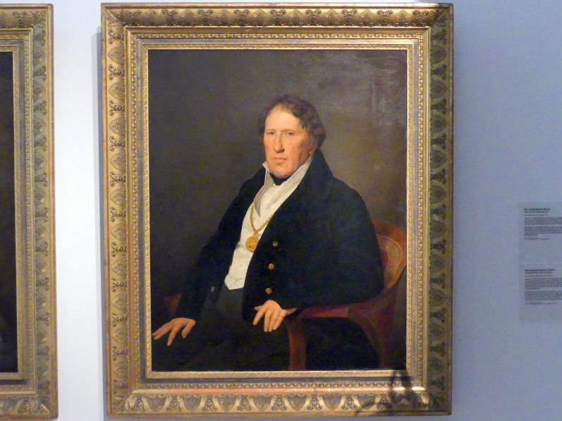 Ferdinand Georg Waldmüller: Bildnis des Schiffermeisters Matthias Feldmüller (1770-1850), 1837