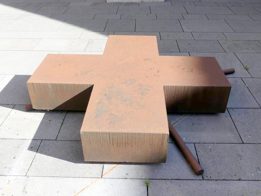 Heinz-Günter Prager: Grosses Doppelkreuz, 1990