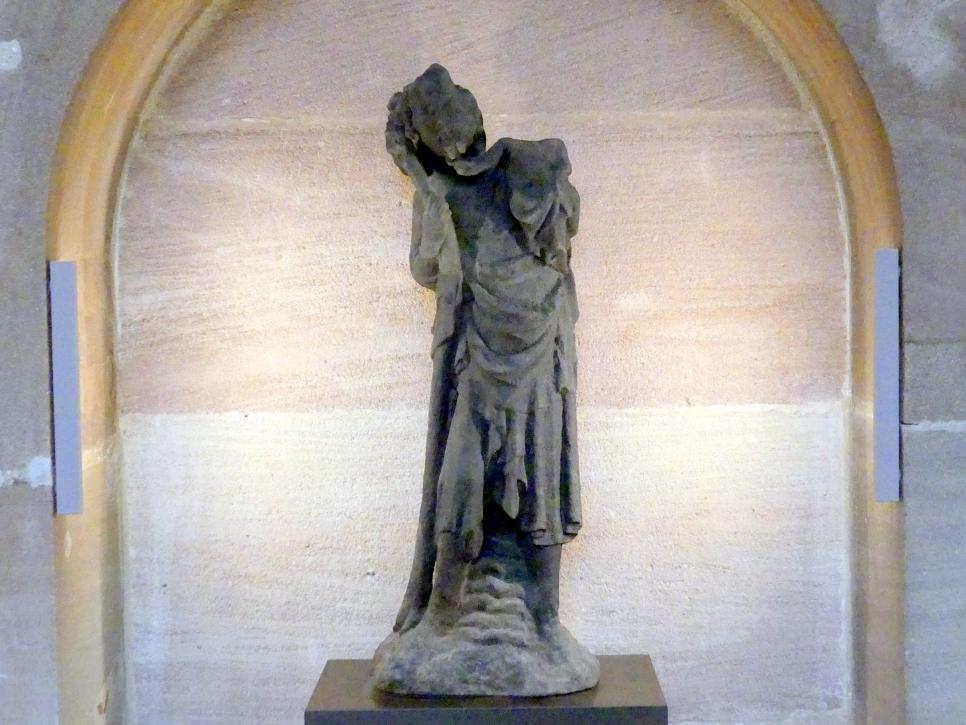 Heiliger Christophorus, um 1330 - 1335