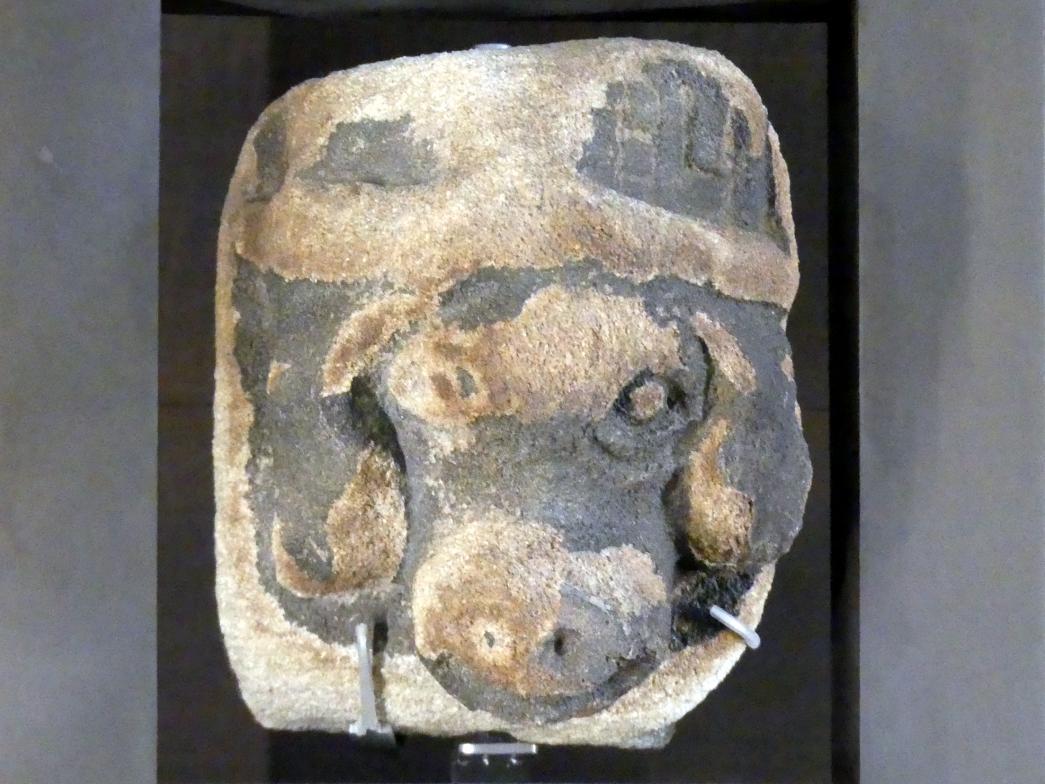 Konsole mit Hundêkopf, 1. Hälfte 14. Jhd.