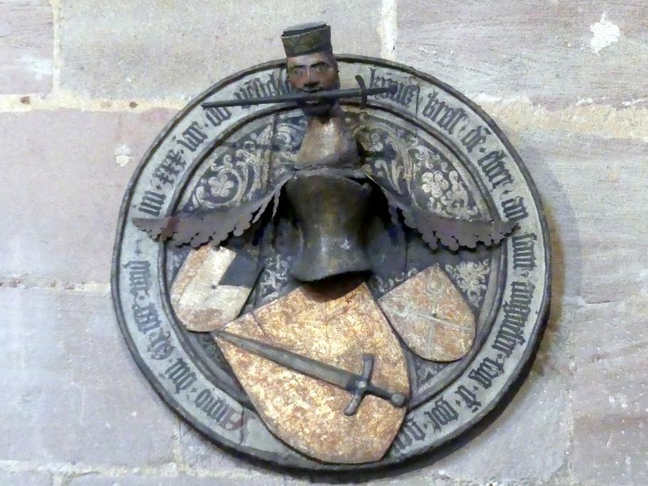 Totenschild des Kunz Kress (gest. 1430), um 1430