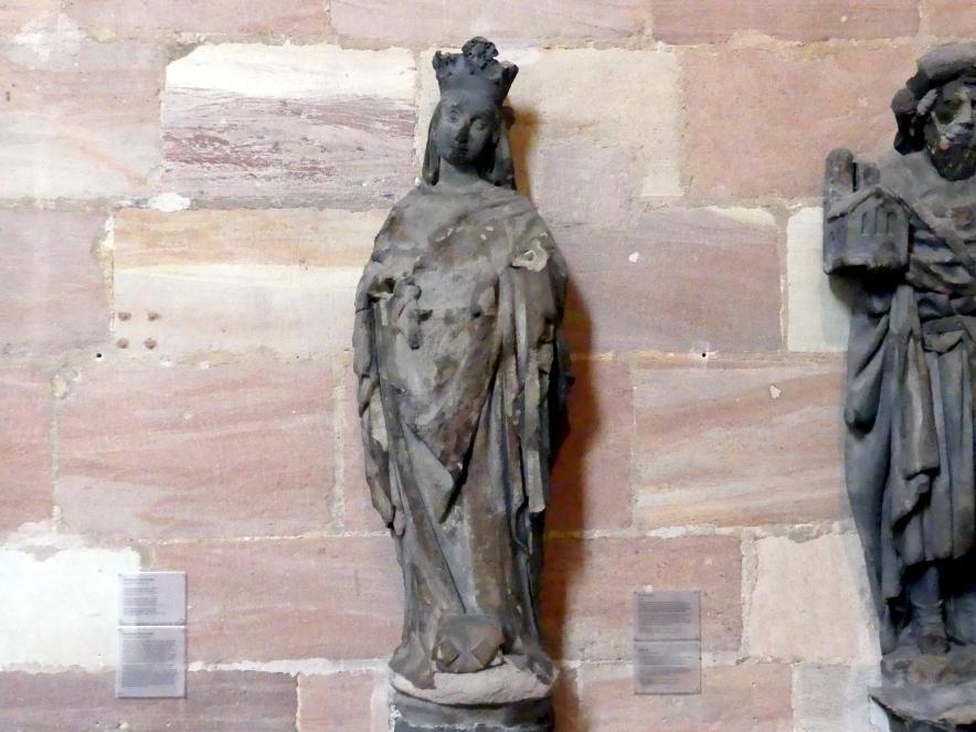 Muttergottes, um 1440