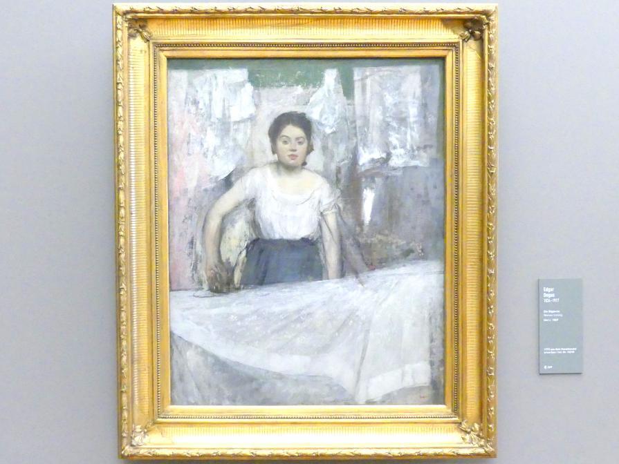 Edgar Degas: Die Büglerin, um 1869