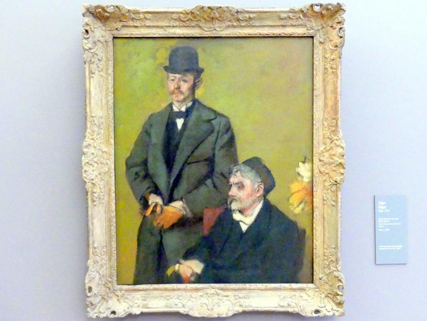 Edgar Degas: Henri Rouart und sein Sohn Alexis, um 1895