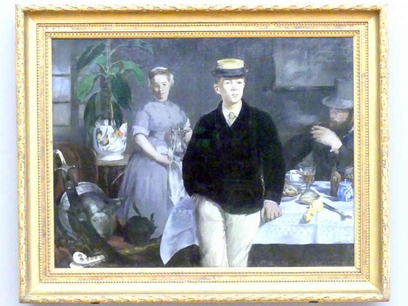 Édouard Manet: Le Déjeuner, 1868