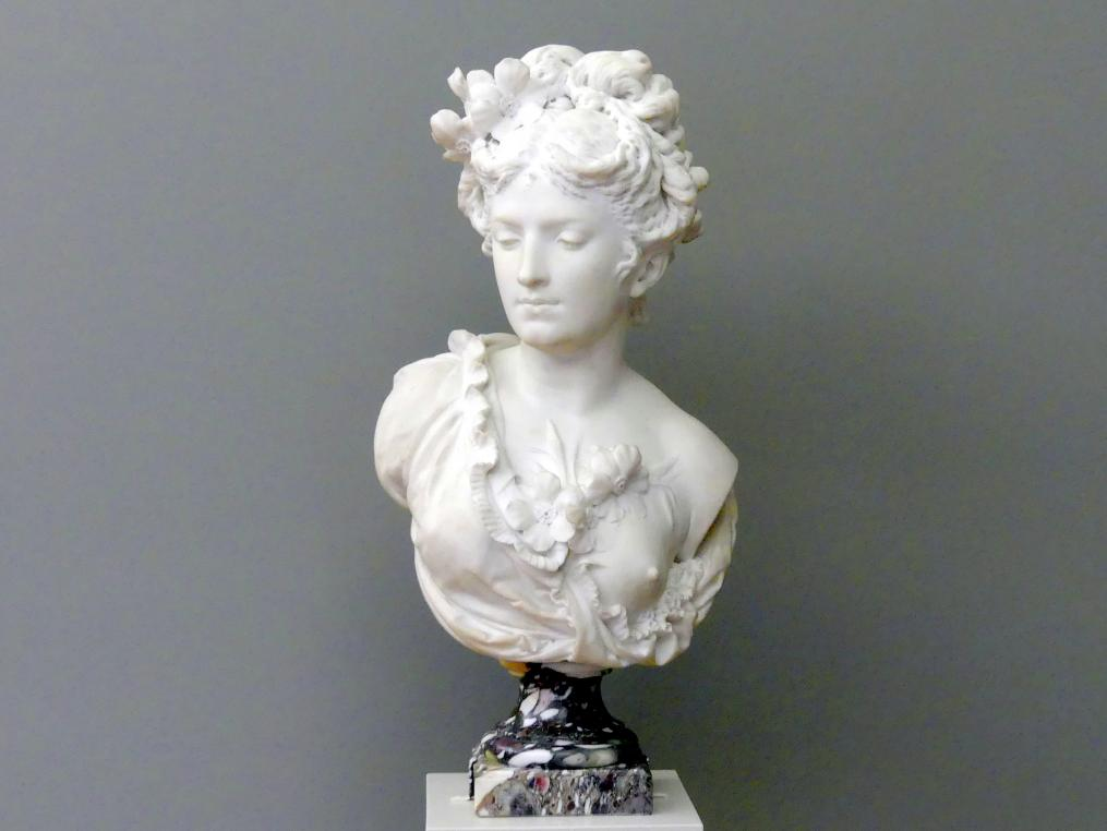 Albert-Ernest Carrier-Belleuse: Flora, um 1870 - 1880